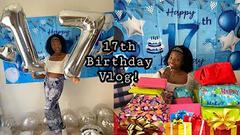 My 17th Birthday Celebration + Fidgets and Slime Birthday Vlog!