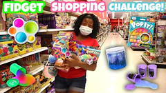 Fidget + Slime Birthday Shopping At Target!   I'll Buy Anything You Can Carry Challenge!