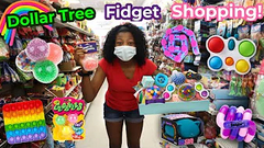 Dollar Tree Slime Supplies + Fidget Shopping!
