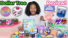 Dollar Tree Slime Review + Fidgets!