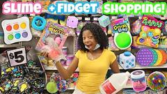 Shopping For Slime + Fidgets At Michaels + Shopping Haul