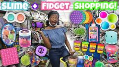 Dollar General Slime + Fidget Shopping + Haul