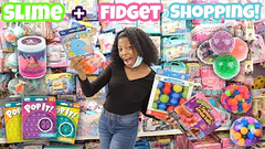 Shopping For Slime Supplies + Fidgets   Family Dollar, 99 Cents Store + More!
