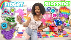 Shopping For Fidgets At The Mall + Store Bought Slime Shopping!