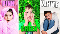 Using Only ONE Color In HIDE AND SEEK!! **funny** | JKREW