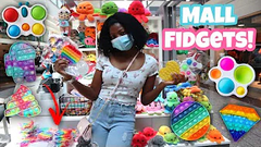 Shopping For Fidget Toys and Slime At The Galleria Mall!