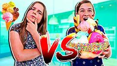 WHO CAN MAKE THE BEST ICE CREAM SUNDAE?! | JKREW