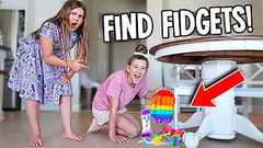 WHO CAN FIND THE MOST FIDGETS WINS MYSTERY PRIZE!! | JKREW