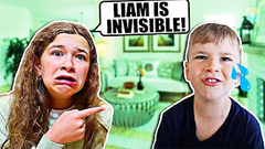OUR BROTHER IS INVISIBLE!! **PRANK** | JKREW