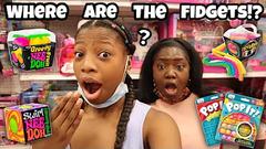 Fidget Toys Shopping At Target!   Nee Doh Balls, Pop It + More!