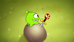 OM Nom Stories: Time Travel - The Middle Ages (Episode 12, Cut the Rope: Time Travel)