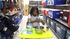 Making Slime At Walmart...We Got Caught!!!