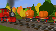 Learn  Shapes and Carve Pumpkins with Shawn the Train