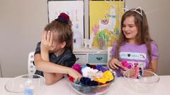 Colored Scrunchies Pick My Slime Ingredients Challenge! | JKrew