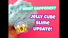 Ew What Happened! Jelly Cube Slime Update!   Peachy Queen  