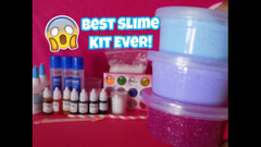 Best Slime Kit Ever!   Banggood Slime kit review   Peachy Queen