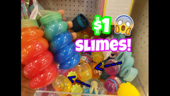 3 Different Types Of Slime At Target!   Store Bought Slime   Peachy Queen