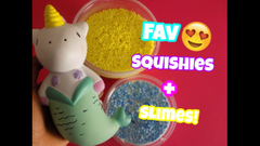 My Favorite Squishies And Slimes!   Peachy Queen  