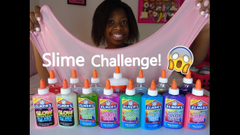 3 Colors Of Glue Slime Challenge!   Slime Watch Weekly   Season 1 Episode 1 