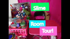 My Slime Supply Room Tour 2018!    Peachy Queen