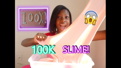 Giant 100k Subs Slime!   Slime Watch Weekly S1 E7  