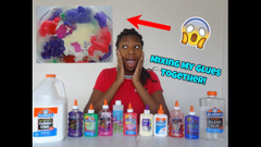 Mixing All My Glues Together!   Slime Challenge!   Peachy Queen