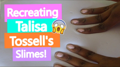 Recreating Talisa Tossell's Slimes!   DIY Thicc Cereal Milk + Butter Slime