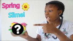 DIY Spring Slime! The Prettiest Slime Ever!   Peachy Queen