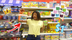 Store Bought Slime Shopping At Walmart And Target!