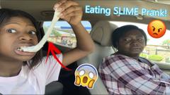 Eating Slime Prank On My Mom! *Gone Wrong!*