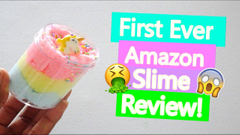 Reviewing Amazon Slimes For The First Time Ever!