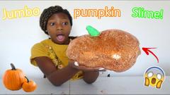 DIY Fall Pumpkin Slime   Peachy Queen