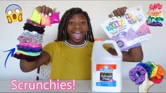 Scrunchies Pick My Slime Ingredients Challenge!   Peachy Queen