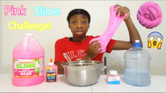 Match That Ingredient Slime Challenge!   One Color Slime!