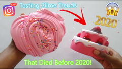 Testing Slime Trends That Died Before 2020! Were They Good!?