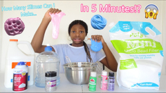 How Many Slimes Can I Make In 5 Minutes Challenge!? Here's What Happened!
