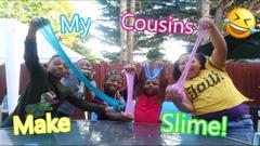 I let My Cousins Make Slime! Bad Idea!?