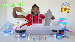 Adding ALL Of My Slime Ingredients Into Slime Part 2!