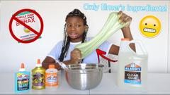 Making Slime Using Only Elmers Ingredients!