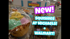 Slime At the Dollar Tree!? New Jumbo Squishies At Michaels   Peachy queen
