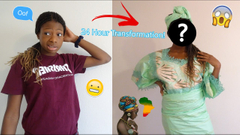 Transforming Myself Into My African Mom! Mom Reacts!