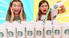 Don't Choose the Wrong Starbucks Slime Challenge!! | JKrew