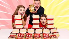 Last to Stop Eating BIG MACS Wins $1,000! | JKrew