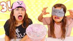 FIX THIS SLIME BLINDFOLDED WITH ONLY 3 INGREDIENTS! | JKrew