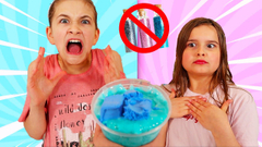 FIX THIS SLIME WITHOUT GLITTER AND CHARMS CHALLENGE! | JKrew