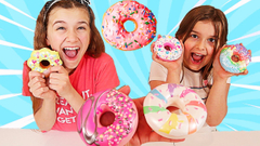 WHO CAN MAKE THE BEST DONUT SLIME CHALLENGE!! | JKrew