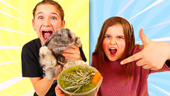FIX OUR BUNNY'S SLIME CHALLENGE!! | JKrew