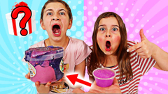TURN THIS MINI SLIME INTO A GIANT SLIME CHALLENGE! Winner gets MYSTERY PRIZE! | JKrew
