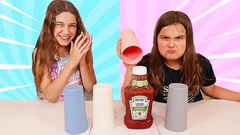 MYSTERY CUP SLIME MAKING CHALLENGE | JKrew
