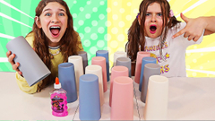 Don't Choose The WRONG Mystery Cup SLIME Challenge!! | JKrew